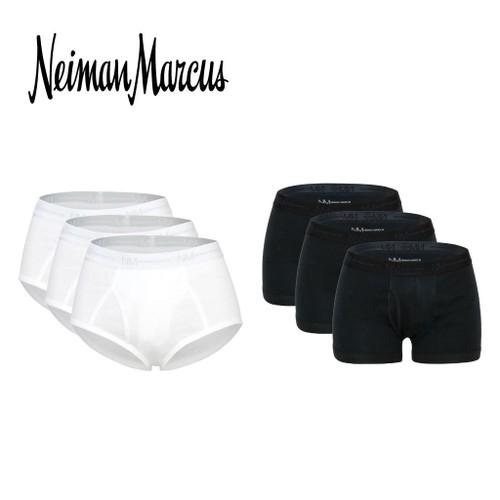 3-Pack Neiman Marcus Tagless 100% Cotton Men's Underwear
