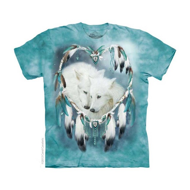 Wolf Heart Adult T-Shirt