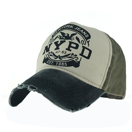Unisex Letters Nypd Outdoor Shade Baseball Cap