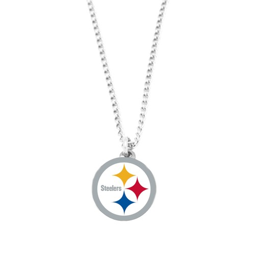 NFL Pittsburgh Steelers Logo Necklace Charm Pendant