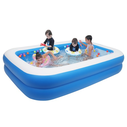 """102"""" x 70"""" x 22"""" Inflatable Swimming Pool - Wall Thickness"""