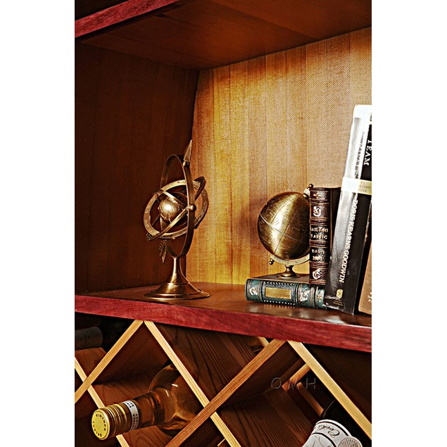 Old Modern Handicrafts Brass Armillary Sphere