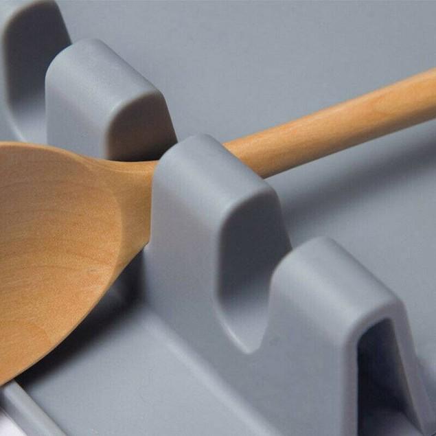 Kitchen Spoon Rest Cooking Utensil Spatula Holder