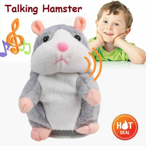 Cheeky Talking & Repeating Hamster Plush Toy
