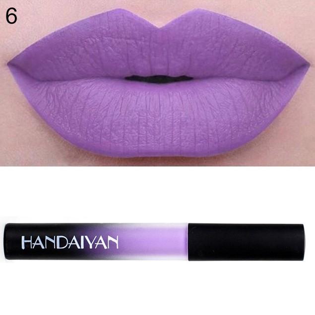 Long Lasting Lip Gloss Cream Liquid Lipstick Makeup Cosmetics Tool