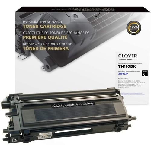 Brothers Clover Remanufactured Toner Cartridge for Brother TN110BK | Black