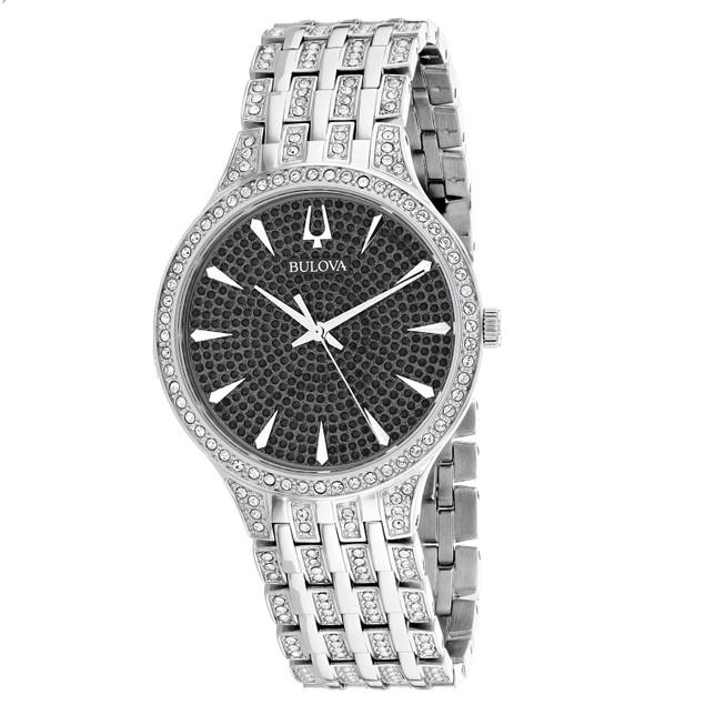 Bulova Men's Phantom Silver Dial Watch - 96A227