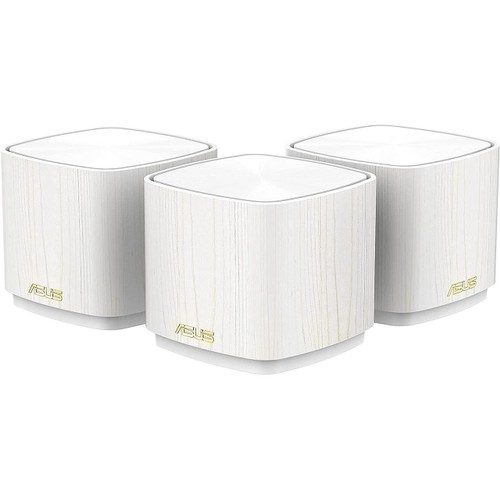 ASUS ZenWiFi AX Mini Whole Home Dual Band Mesh WiFi 6 System (XD4) - 3 Pack