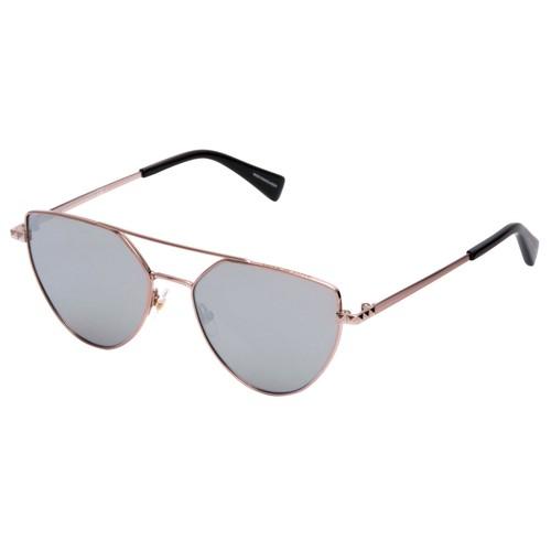 Rebecca Minkoff Women Sunglasses RMSTEVIE2 Rose Gold 55 17 140 Aviator Mirrored