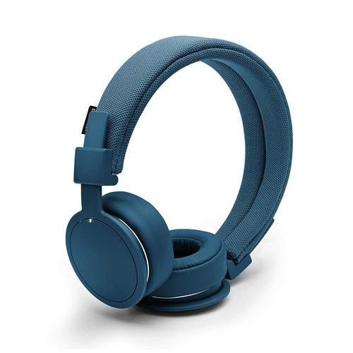 Urbanears Plattan ADV Wireless On-Ear Bluetooth Headphones, Indigo (4091101