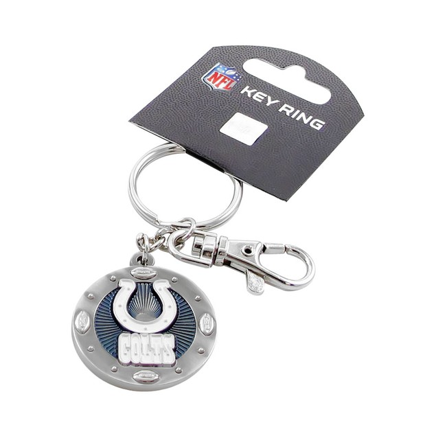 NFL Indianapolis Colts Imapact Metal Key Ring Clip Keychain