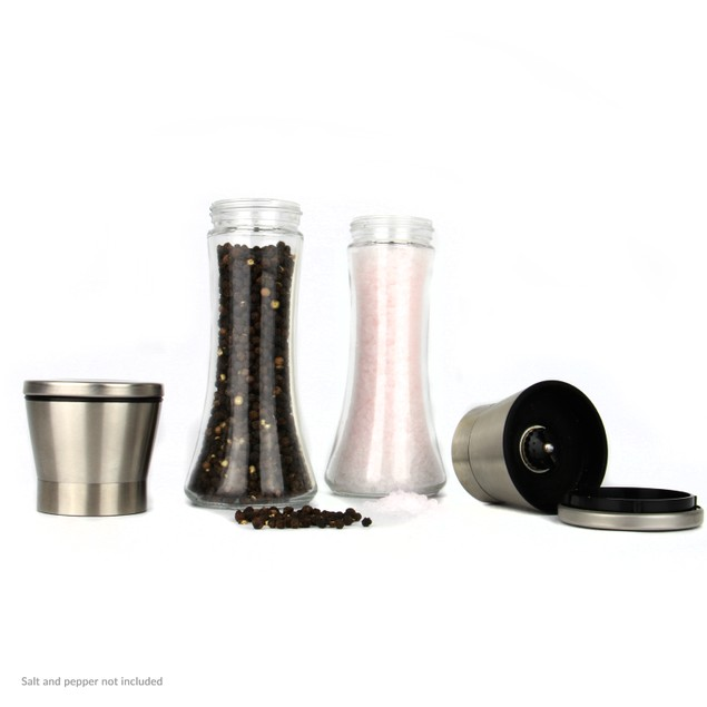 Salt and Pepper Grinders - Set of 2 | MandW Large New