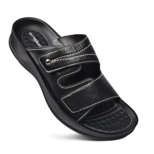 AEROTHOTIC Tinkle Women's Comfortable Dual Strap Slide Sandals