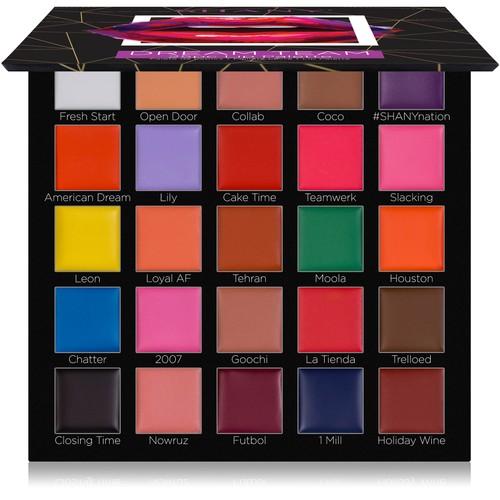 SHANY Dream Team Lip Palette - 25 Lipstick Pans