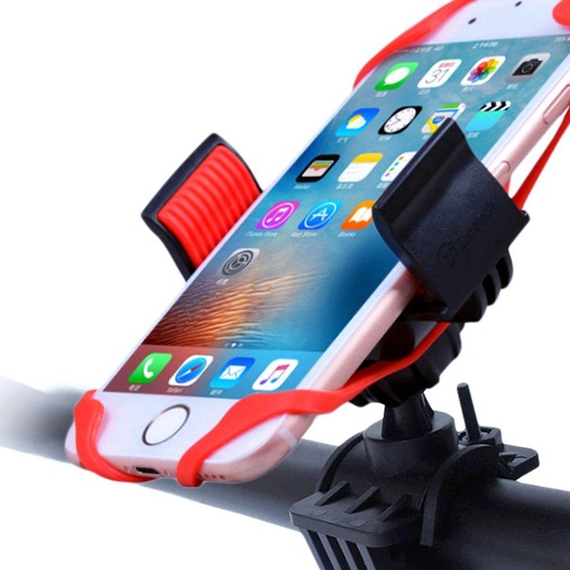 Zone Tech Bike Motorcycle Cell Phone Mount Adjustabl iPod Holder 3.7""