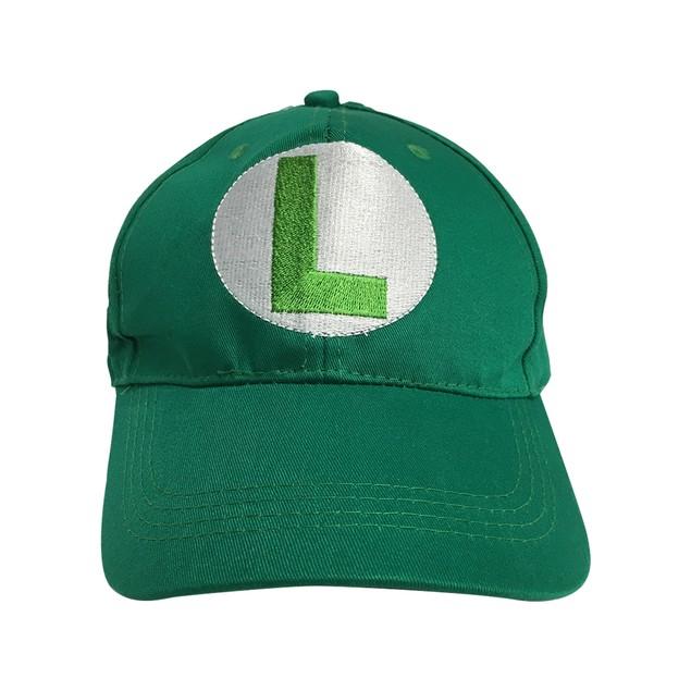 Luigi L Logo Green Baseball Cap