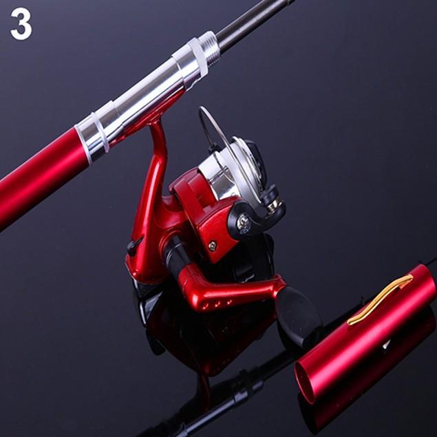 Mini Pen Shape Portable Pocket Fish Spinning Rod Pole