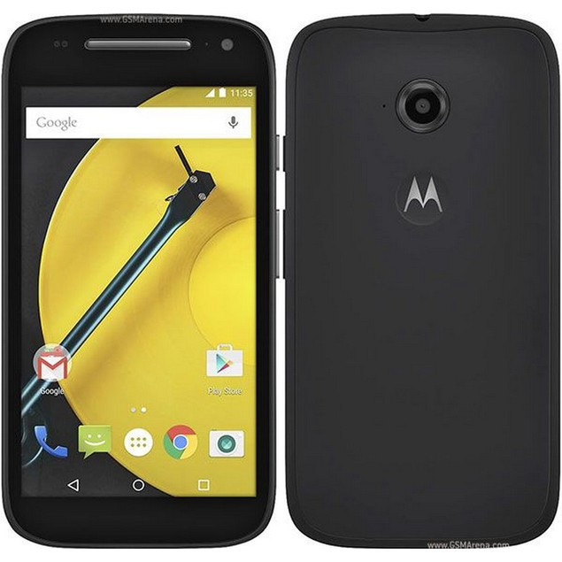 Motorola MOTO E (2nd Gen), AT&T, Black, 8 GB, 4.5 in Screen