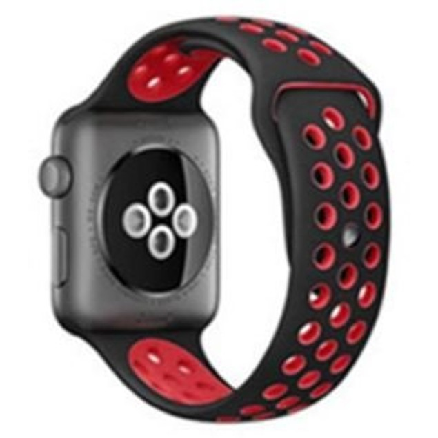 Soft Silicon Replacement Wrist Band Strap for Apple Watch Series 1, 2-42mm