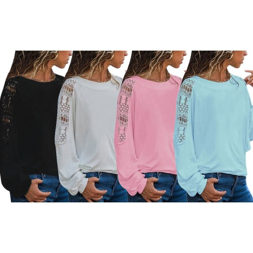 Round Neck Lace Top