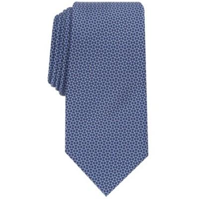Perry Men's Ellis Catanese Solid Tie Blue Size Regular