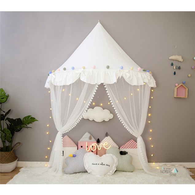 Kids Children Wall Hanging Mosquito Net Tent Canopy Home Decor