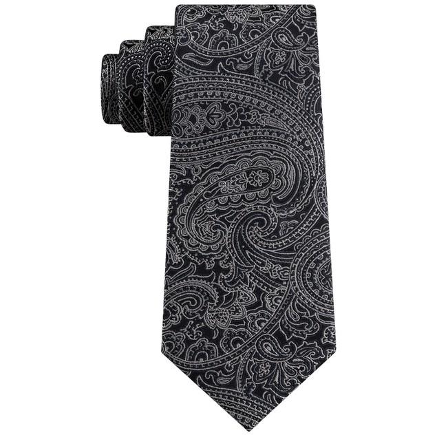 Michael Kors Men's Perfect Movement Paisley Tie Navy Size Regular