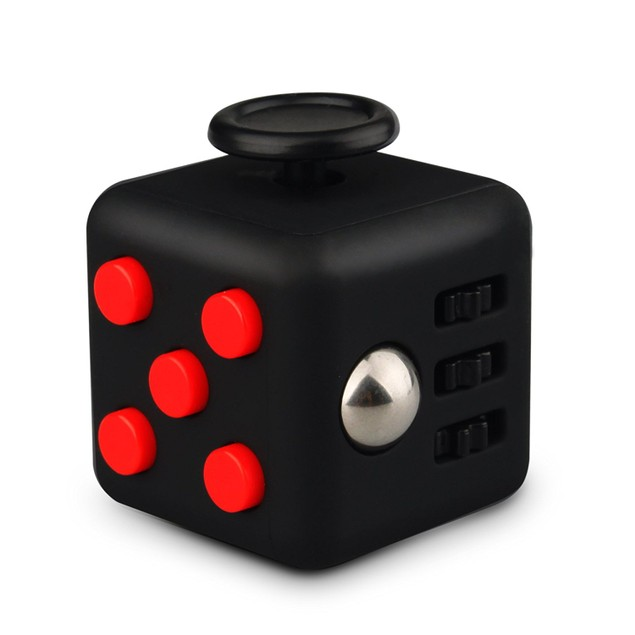 Hand Fidget Cube Anti Anxiety Stress Relief Focus Toy Gift For Adults Kids