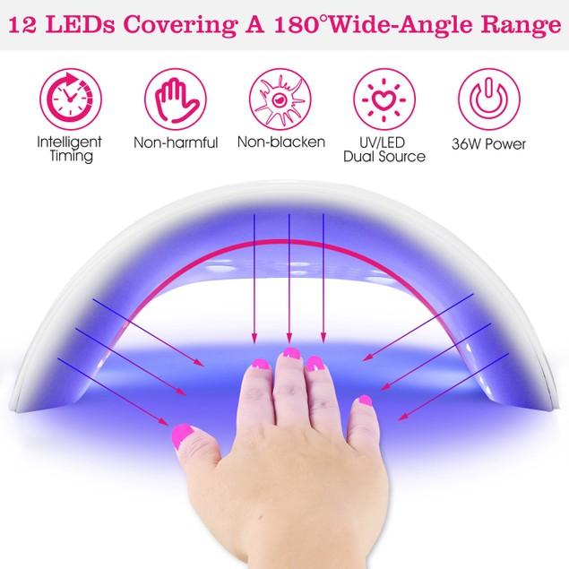 36W UV LED Lamp Nail Gel Drye
