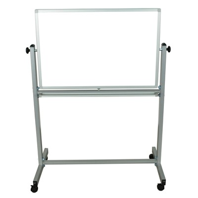 """Luxor 36"""" x 24"""" Double Sided Reversible Magnetic Whiteboard"""