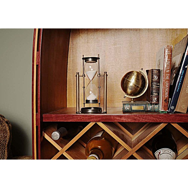 Old Modern Handicrafts Brass Revolving Sandtimer