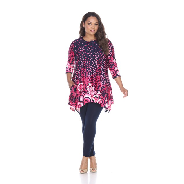 Plus Size Sigrid Tunic Top - 3 Colors