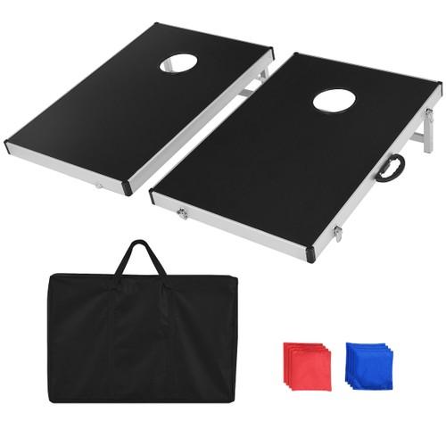 Foldable Bean Bag Toss Cornhole Game Set Tailgate Regulation w/ Carrying Ba