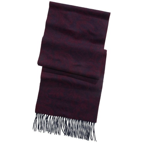 Club Room Men's Solid Cashmere Scarf Wine One Size