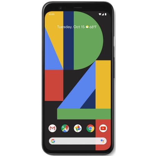 Google Pixel 4 XL, Unlocked, Black, 64 GB, 6.3 in Screen