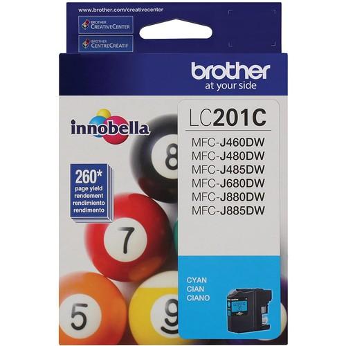 Brothers Brother LC201C Standard Yield Cyan Ink Cartridge