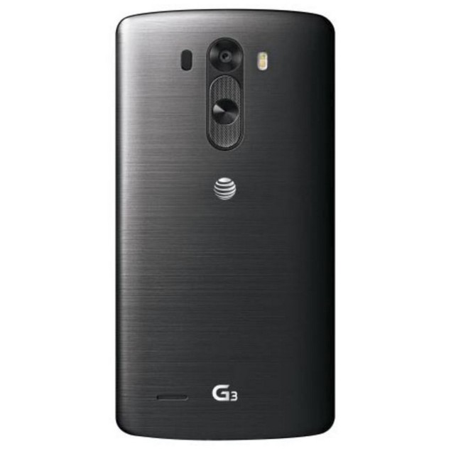 LG G3, AT&T, Black, 32 GB, 5.5 in Screen