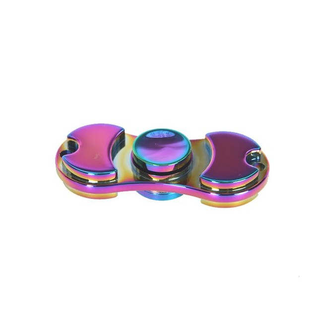 Aluminum Rainbow Fidget Spinner