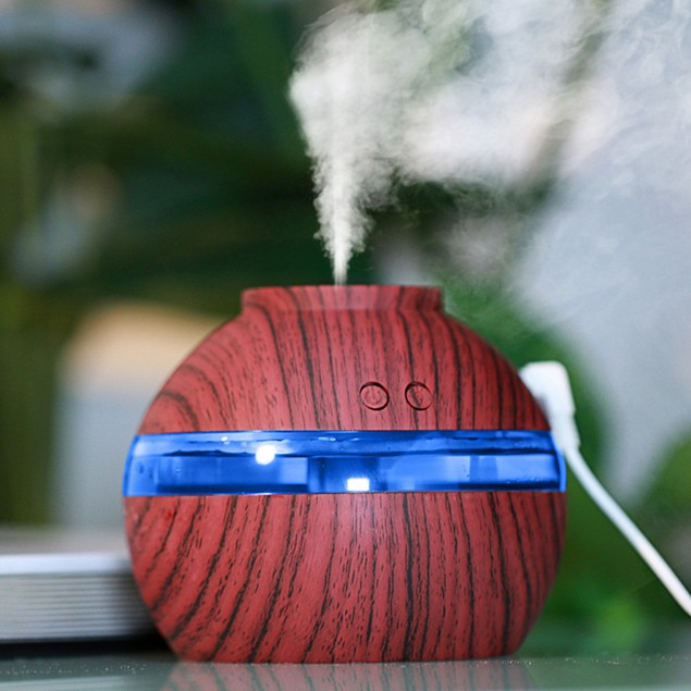 Humidifier Diffuser LED Air Aroma Ultrasonic  Essential Oil  Aromatherapy
