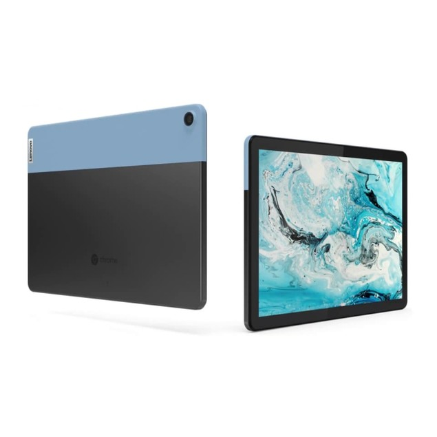 "Lenovo IdeaPad Duet Chromebook 10.1"" 128GB,Ice Blue + Iron Grey"