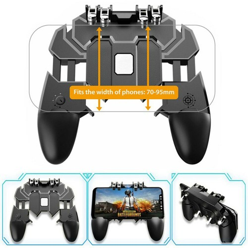 AK66 Mobile Phone Game Controller Joystick for IOS Android PUBG Fortnite