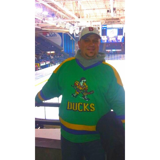 Ducks Logo Hockey Jersey