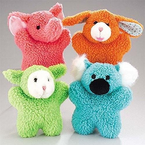 Zanies Cuddly Berber Baby Dog Toy (Bunny, Elephant, Koala, and Lamb)