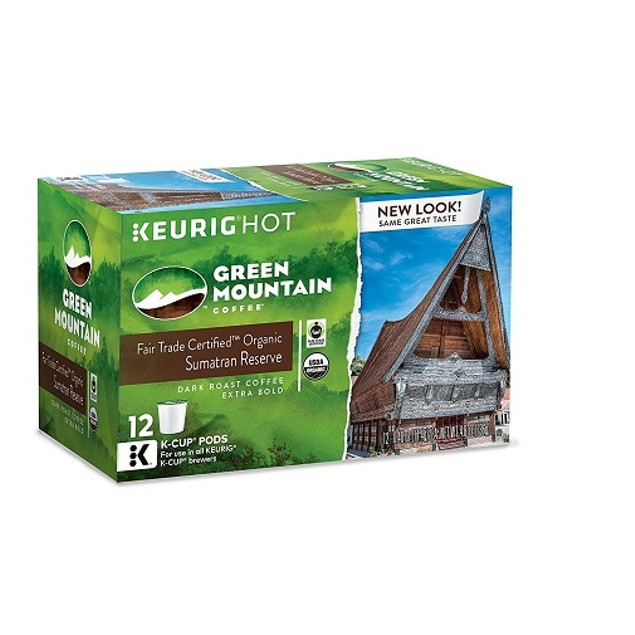 Green Mountain Coffee Sumatran Reserve Keurig K-Cups