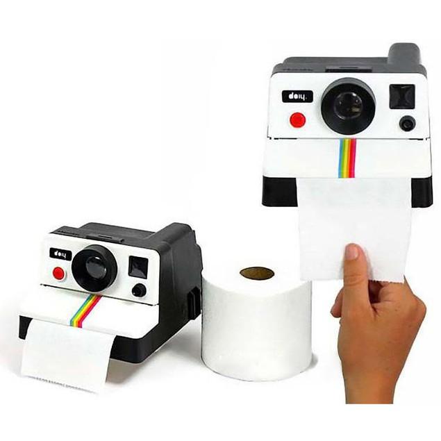 Camera Toilet Paper Holder