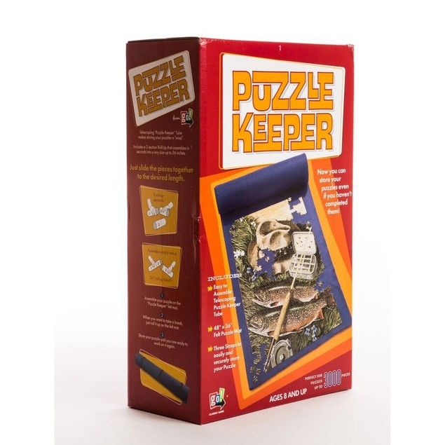 Puzzle Keeper Jumbo Puzzle Roll Up, More Puzzles by Go! Games
