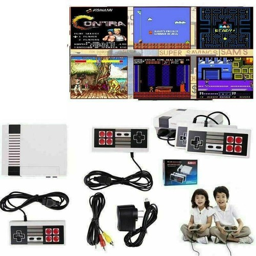 Classic Video Game System with Over 620 Built-In Games Mini Classic Game Console