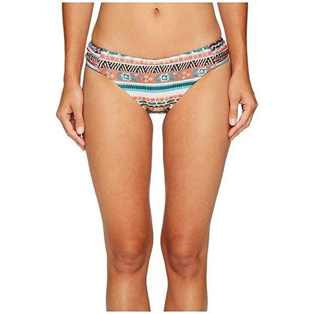 Becca by Rebecca Virtue Women's Tab Side Hipster Bikini Bottom SIZE LA