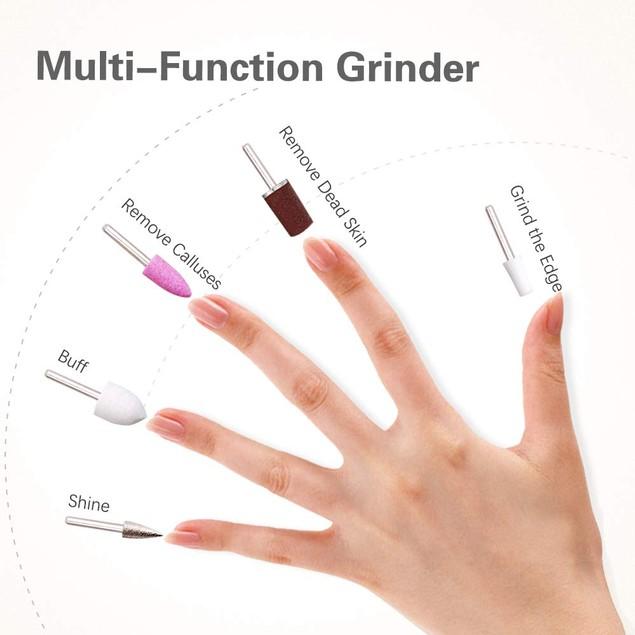 Touch Beauty 5-in-1 Manicure/Pedicure Set
