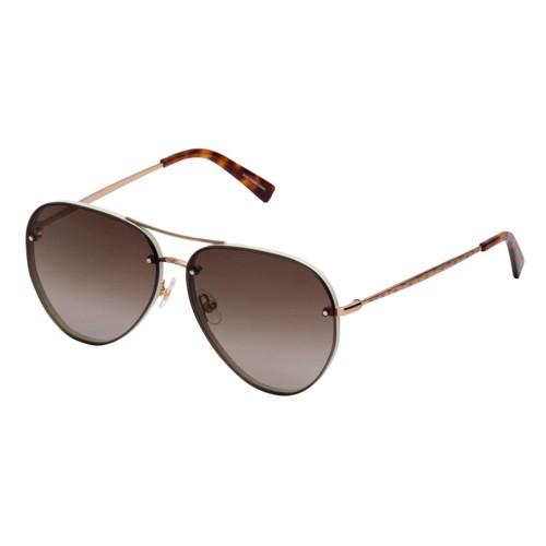 Rebecca Minkoff Women Sunglasses RMGLORIA2S 03YG Light Gold Aviator Gradient